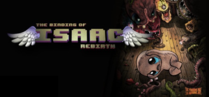The Binding of Isaac: Rebirth logo